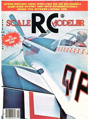 Scale RC Modeler October 1981