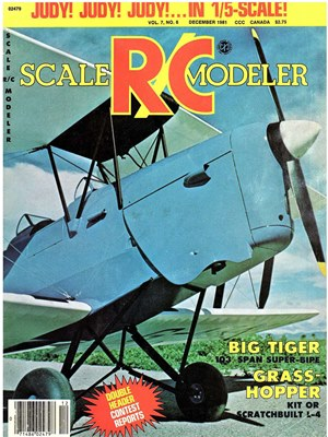 Scale RC Modeler December 1981