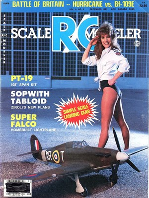 Scale RC Modeler December 1983