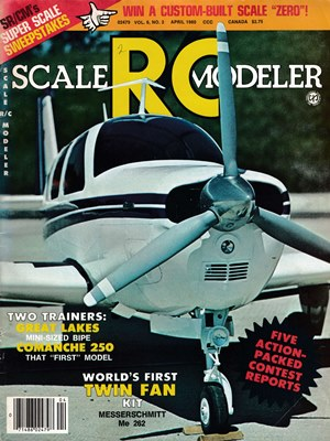 Scale RC Modeler April 1980