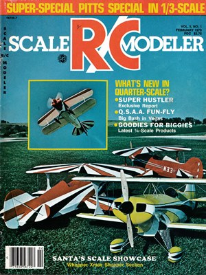 Scale RC Modeler February 1979