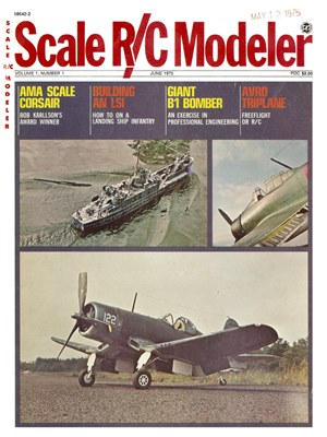 Scale R/C Modeler June 1975
