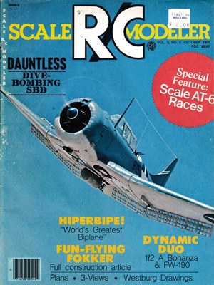 Scale R/C Modeler October 1977