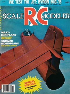 Scale RC Modeler October 1980