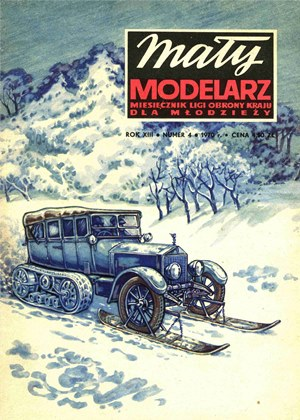 Maly Modelarz April 1970