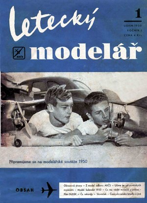 Letecky Modelar January 1950