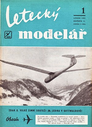 Letecky Modelar January 1951