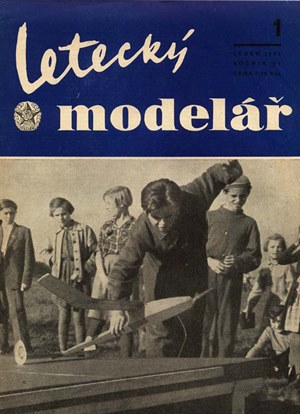 Letecky Modelar January 1955