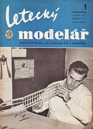 Letecky Modelar January 1957