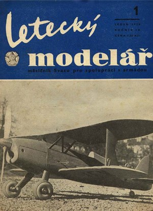 Letecky Modelar January 1958