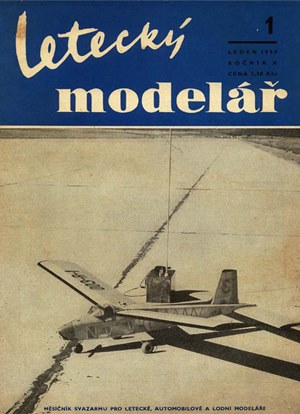 Letecky Modelar January 1959