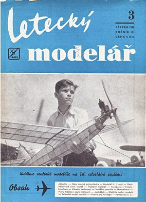 Letecky Modelar  March 1951