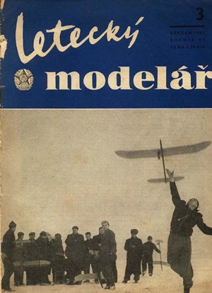 Letecky Modelar  March 1955