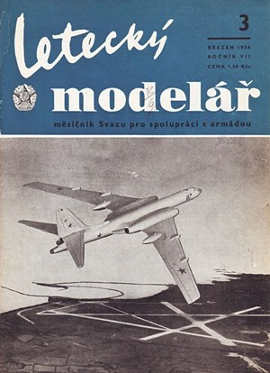 Letecky Modelar  March 1956
