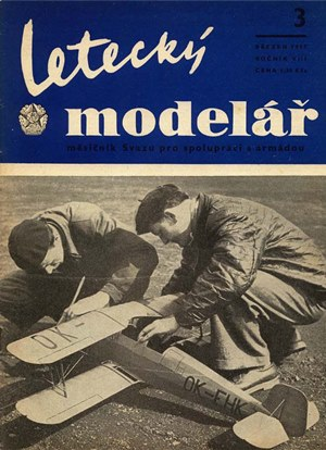 Letecky Modelar  March 1957