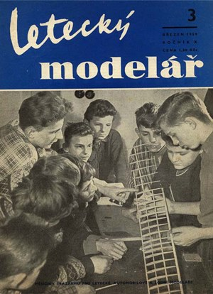 Letecky Modelar  March 1959