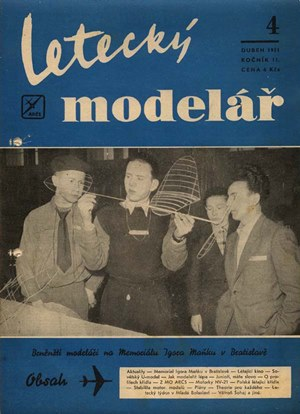 Letecky Modelar  April 1951