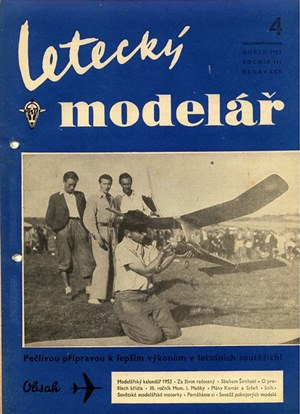 Letecky Modelar  April 1952
