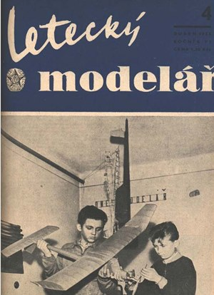 Letecky Modelar  April 1955