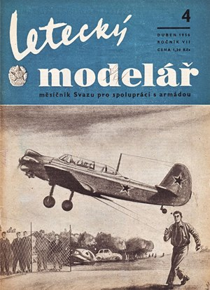 Letecky Modelar  April 1956