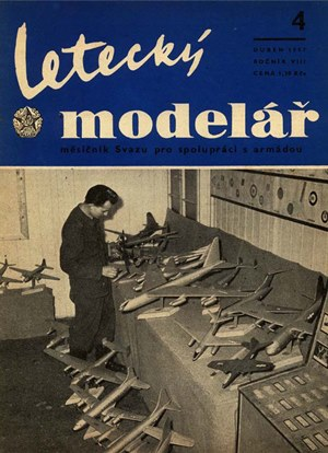 Letecky Modelar  April 1957