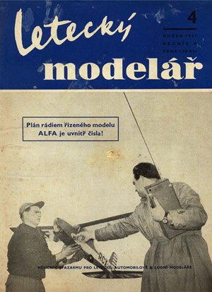 Letecky Modelar  April 1959