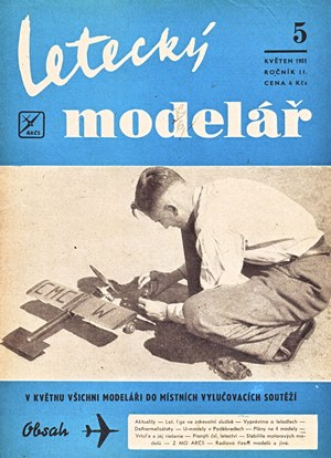 Letecky Modelar May 1951