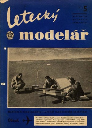 Letecky Modelar  May 1954