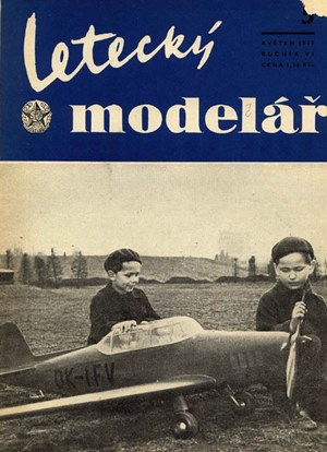 Letecky Modelar  May 1955