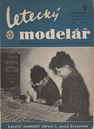 Letecky Modelar  May 1956