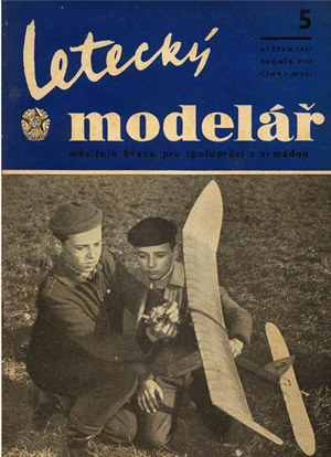 Letecky Modelar  May 1957
