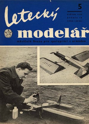 Letecky Modelar May 1958
