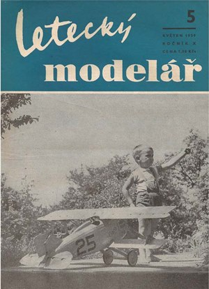 Letecky Modelar  May 1959