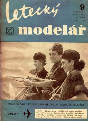 Letecky Modelar  September 1950