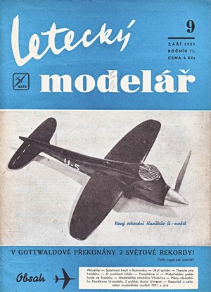 Letecky Modelar  September 1951