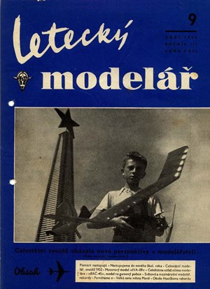 Letecky Modelar  September 1952