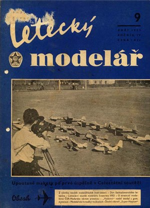 Letecky Modelar  September 1953