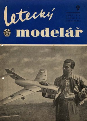Letecky Modelar  September 1954