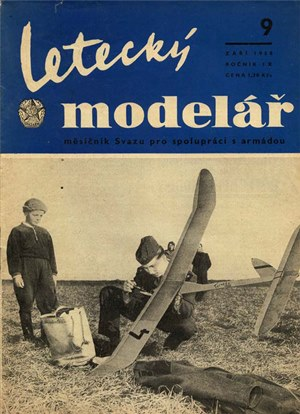 Letecky Modelar  September 1958
