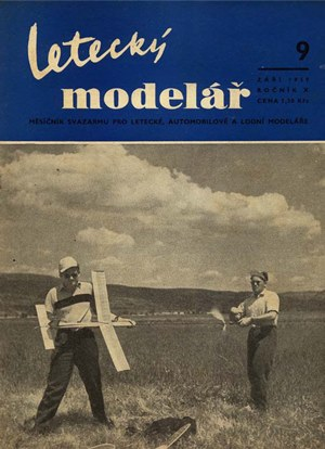 Letecky Modelar  September 1959