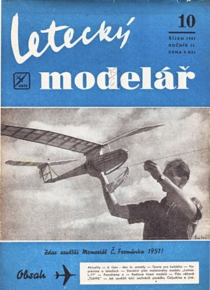 Letecky Modelar  October 1951
