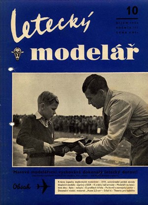 Letecky Modelar  October 1952