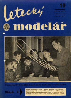 Letecky Modelar  October 1953