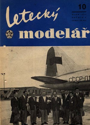 Letecky Modelar  October 1954