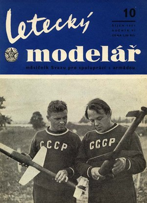 Letecky Modelar  October 1955