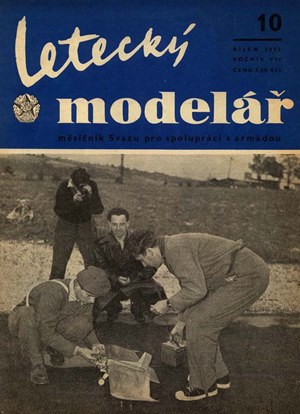 Letecky Modelar  October 1956