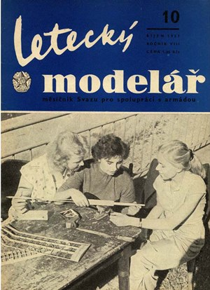 Letecky Modelar  October 1957