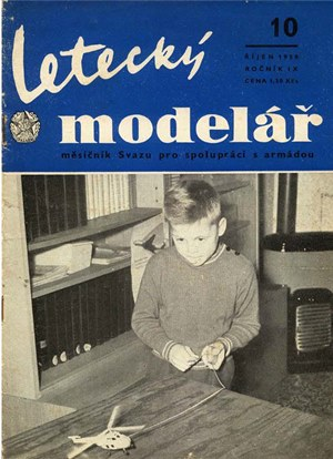 Letecky Modelar  October 1958