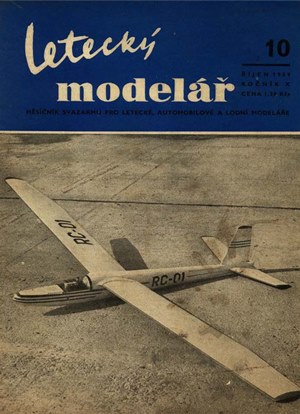 Letecky Modelar  October 1959