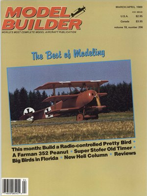 Model Builder March - April 1989